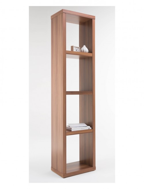 Alphason Maine Narrow Bookcase ABC4001-WAL