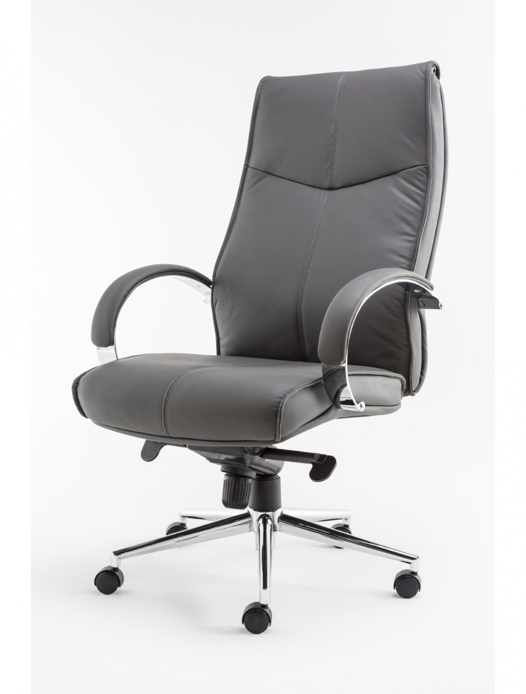 Alphason Verona Leather Executive Office Chair AOC1019GRY   Enlarged View