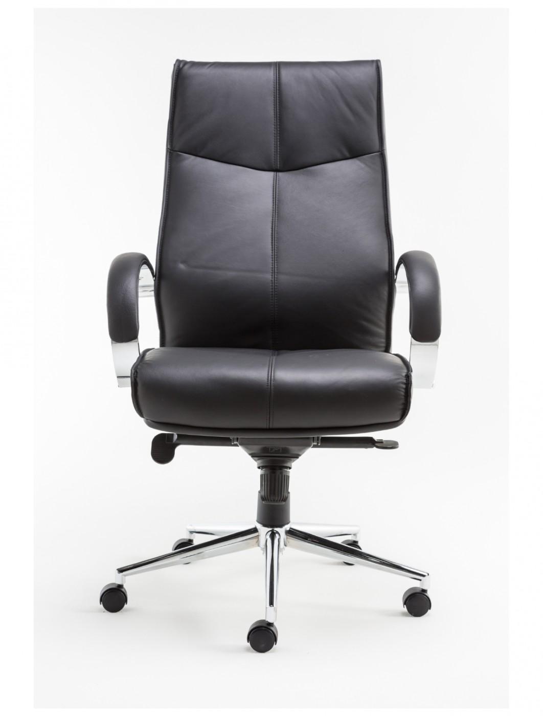 Alphason Verona Leather Executive Office Chair AOC1019BLK