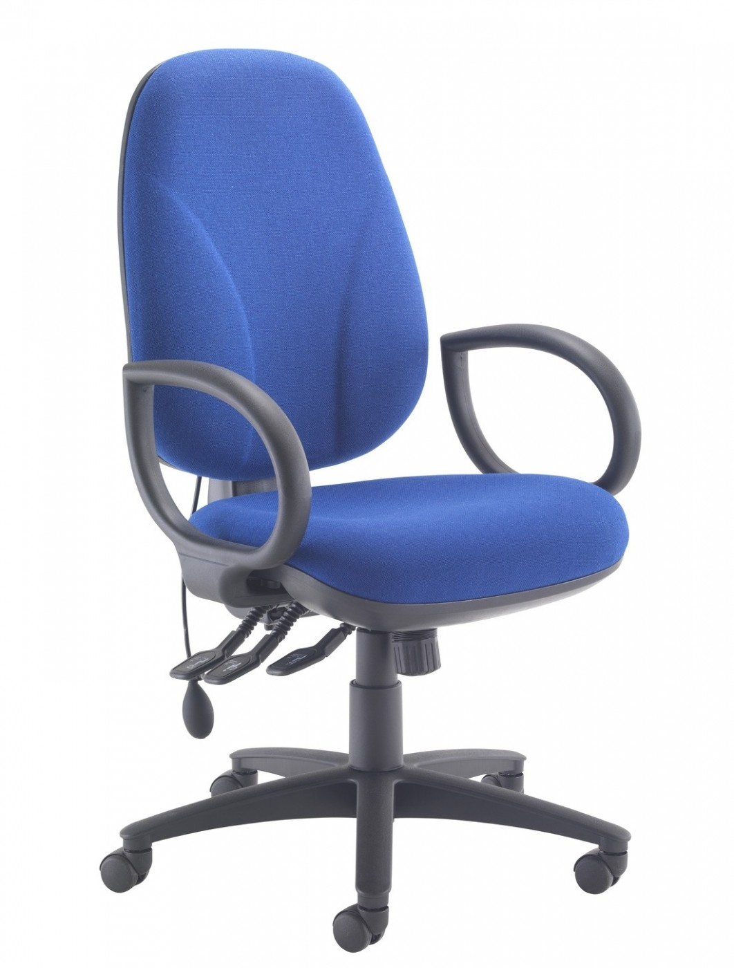 TC Office Concept Maxi Ergo Office Chair CH0808BL In Royal Blue   Enlarged  View