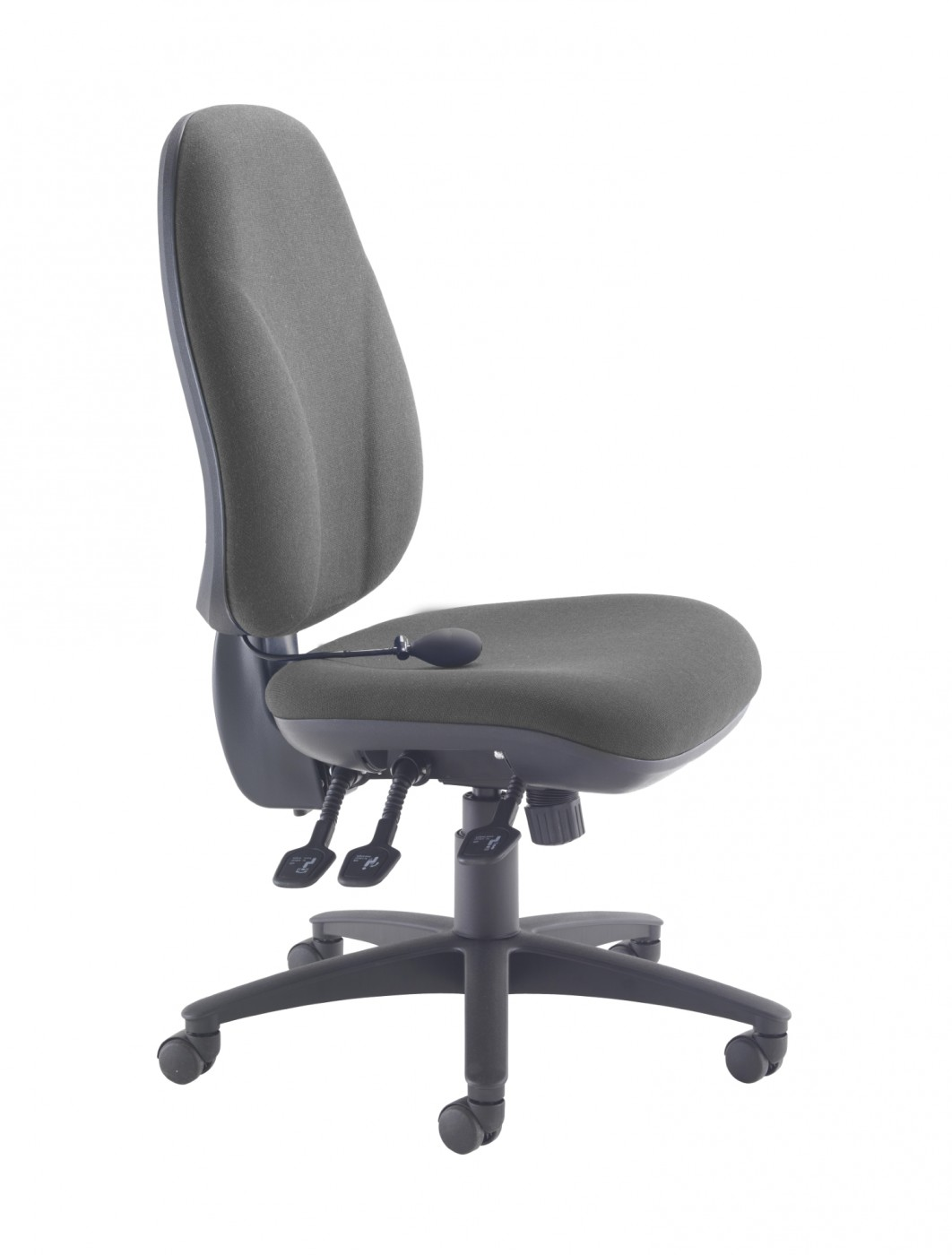TC Office Concept Maxi Ergo Office Chair CH0808CH In Charcoal   Enlarged  View