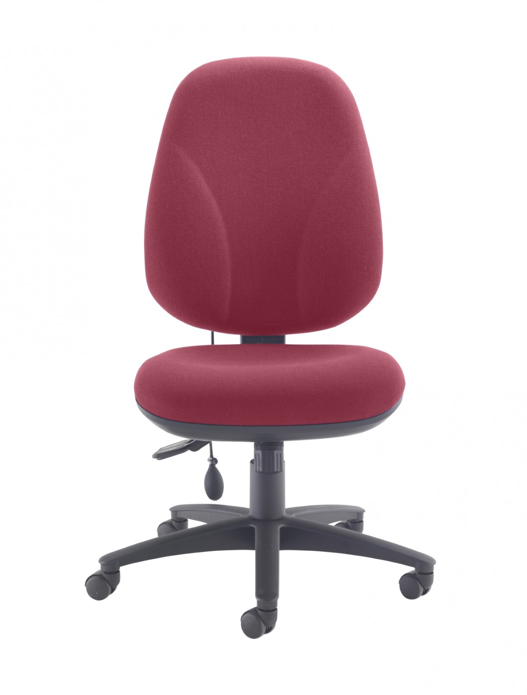 TC Office Concept Maxi Ergo Office Chair CH0808CL In Claret   Enlarged View