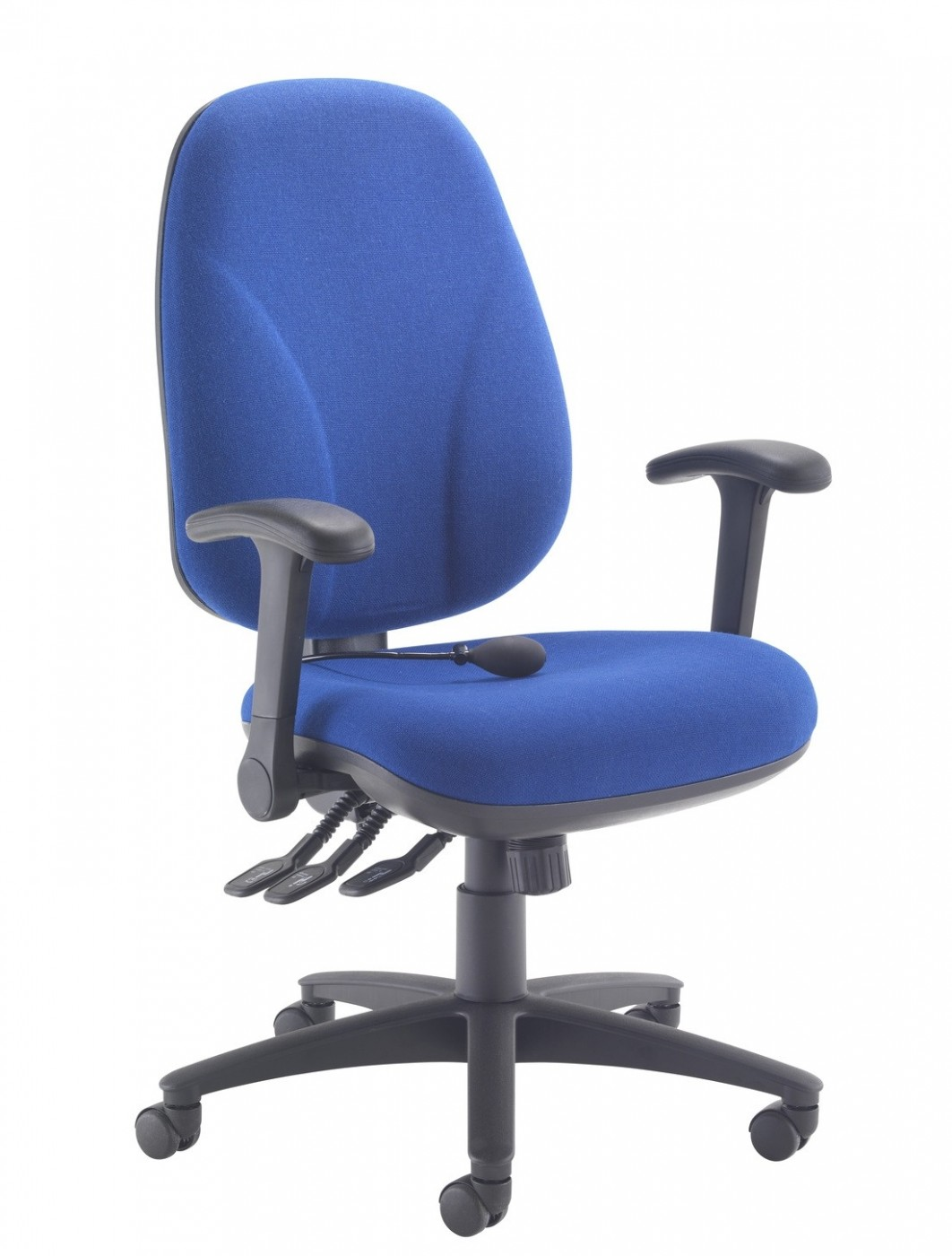 tc office concept maxi ergo office chair ch0808 in blue. Black Bedroom Furniture Sets. Home Design Ideas