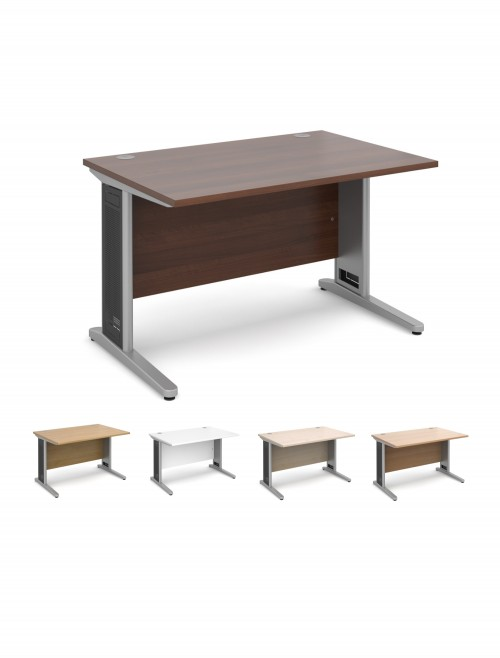 Office Desks - Largo 1200mm Wide Straight Office Desk L12