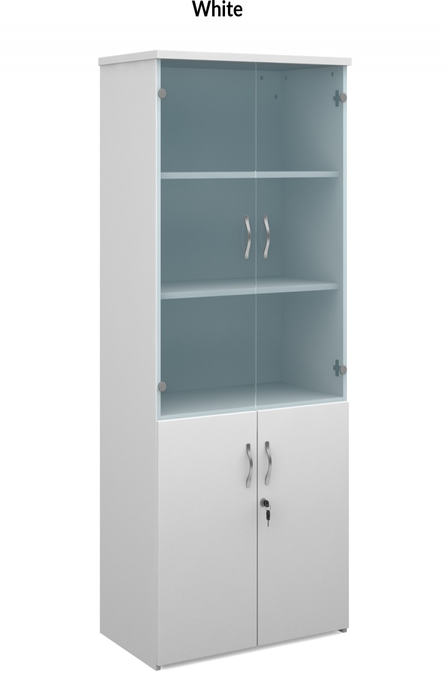 1790mm High Combination Unit R1790COM with Top Glass Doors