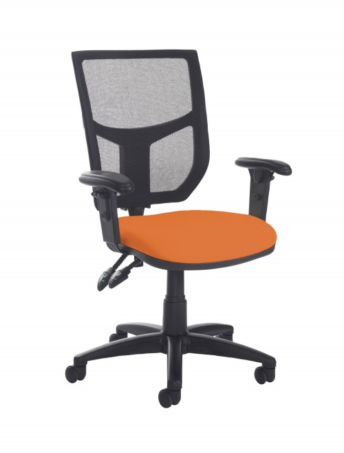 Altino High Back 2 Lever Operators Chair AH12-000 with Adjustable Arms