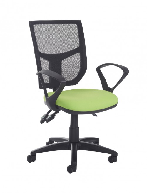 Altino High Back 3 Lever Operators Chair AH21-000 with Fixed Arms