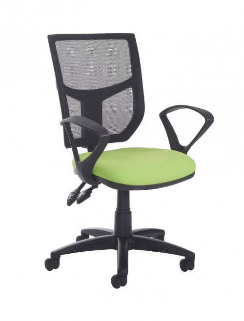 Altino High Back 2 Lever Operators Chair AH11-000 with Fixed Arms