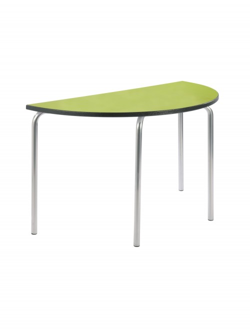 Classroom Tables - 1100mm Semi-Circular Equation Tables EQUPR-11SC-PS