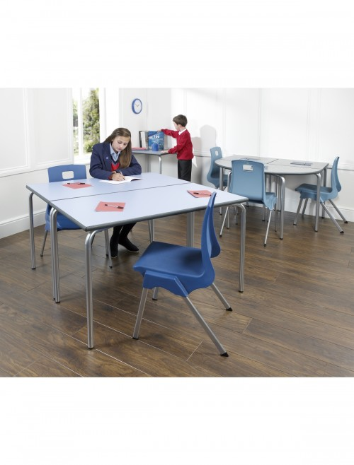 Classroom Tables - 1100x550mm Rectangular Equation Tables EQUPR-115-PS