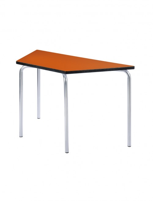 Classroom Tables - 1200x600mm Trapezoidal Equation Tables EQUPR-12LE-PS
