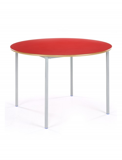 Classroom Tables - 1000mm Circular Tables SQSS-10C-MD - Fully Welded