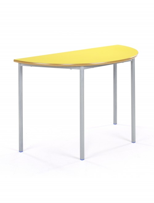 Classroom Tables - 1100mm Semi-Circular Tables SQSS-11SC-MD - Fully Welded