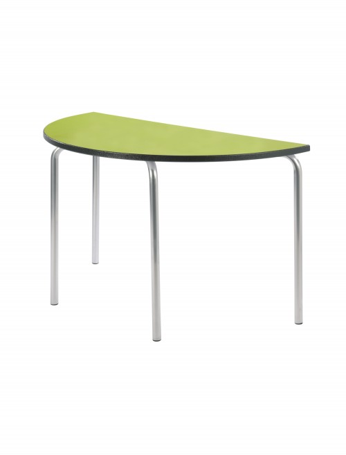 Classroom Tables - 1200mm Semi-Circular Equation Tables EQUPR-12SC-PS