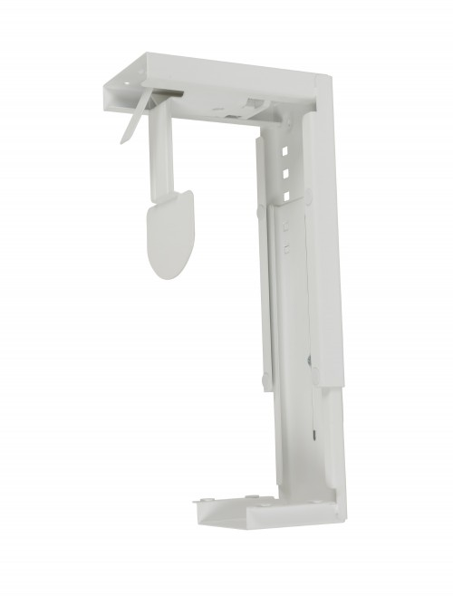 Dams Under Desk Large CPU Holder - White DLCPU-WH