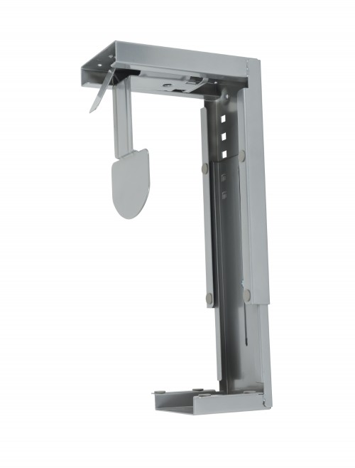 Dams Under Desk Large CPU Holder - Silver DLCPU-S