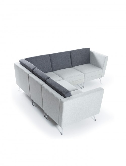 Reception Seating - Dams Lyric Modular Reception Corner Sofa Set LYRSET