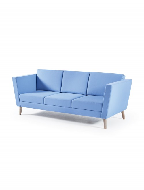 Dams Lyric Reception Seating 3 Seater Sofa LYR50003