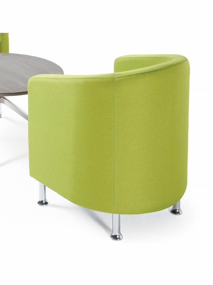 Dams Tanto Reception Tub Chair TAN50001 | 121 Office Furniture