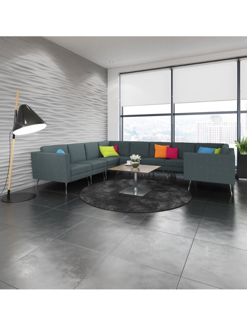 Reception Seating - Dams Lyric Modular Reception Large Corner Sofa Set LYRSET
