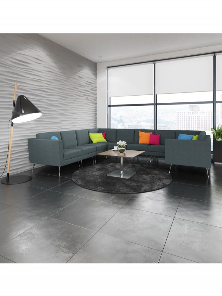 Dams Lyric Modular Reception Large Corner Sofa Set LYRSET