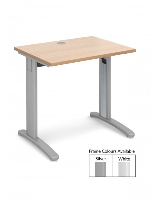 narrow office desk. tr10 beech office desks narrow desk t