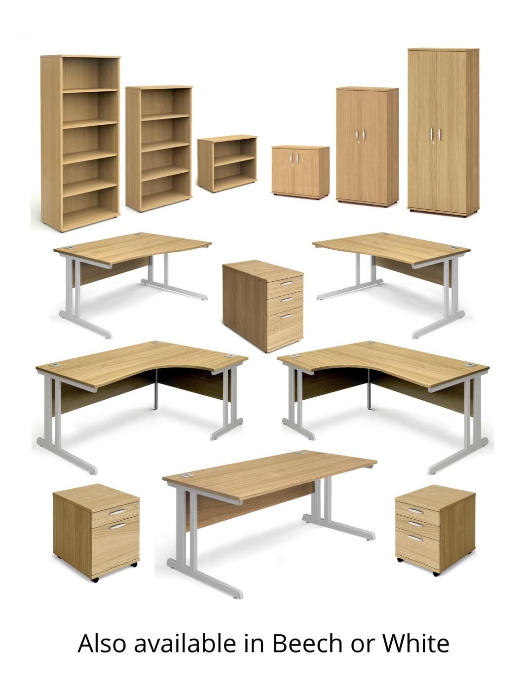 Peachy Oak Office Desk 1400X800Mm Aspire Desk Et Sd 1400 Ok Home Interior And Landscaping Transignezvosmurscom