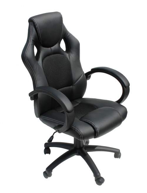 Gaming Chairs - Alphason Daytona Office Chair AOC5006BLK