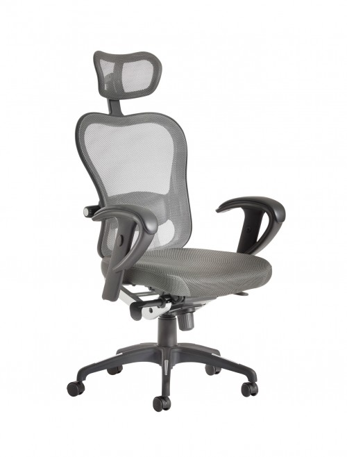 Office Chairs - Dams Betis High Mesh Back Posture Chair BET300K2-G