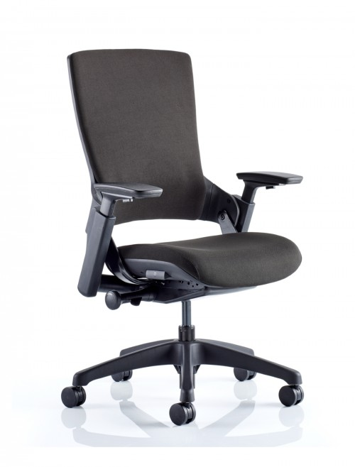 Office Chairs - Molet Black Fabric Office Chair OP000211
