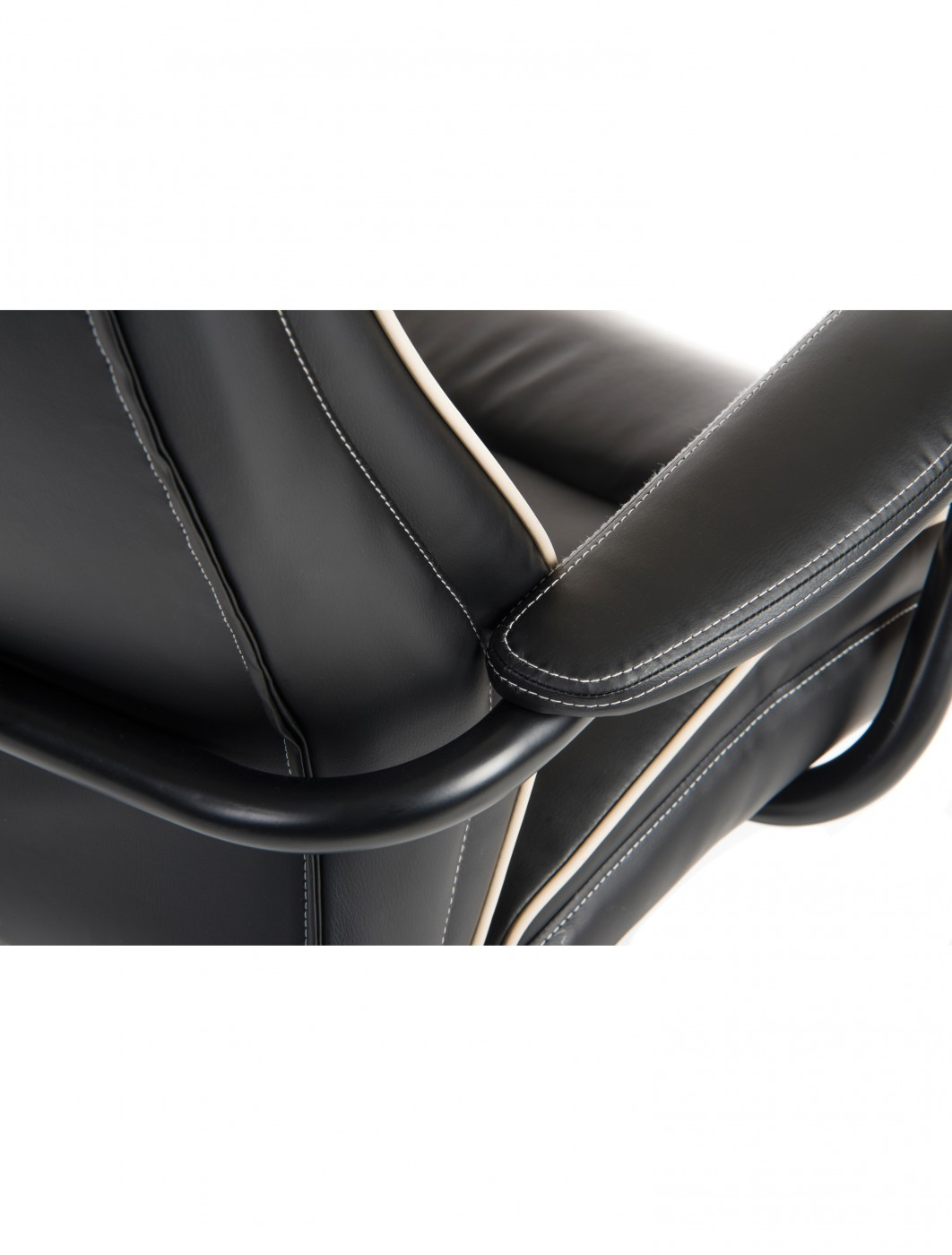 heavy duty executive leather chair. office chairs goliath duo heavy duty chair b992 in black - enlarged view executive leather