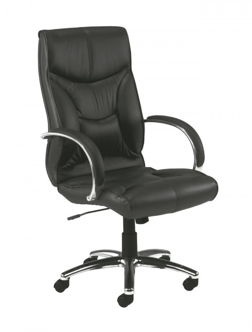 Leather Office Chair Whist in Black CH0206