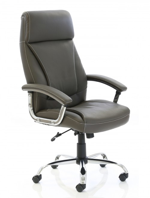 Office Chairs - Penza Executive Brown Leather Office Chair EX000187