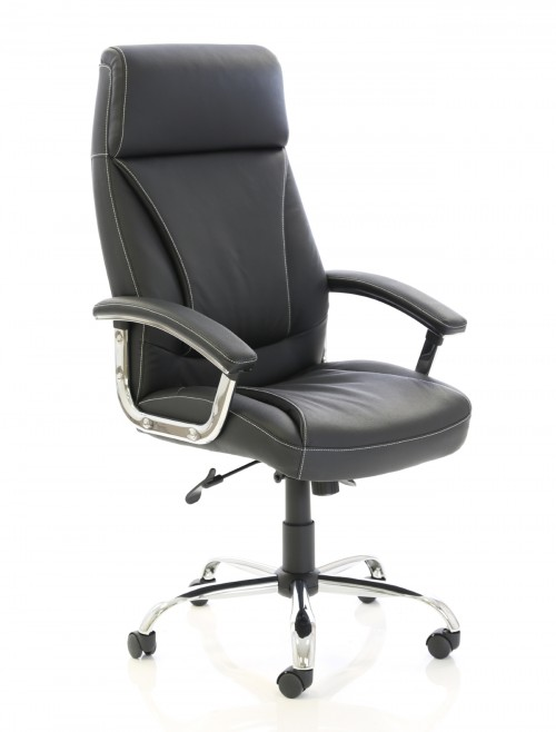 Office Chairs - Penza Executive Black Leather Office Chair EX000185