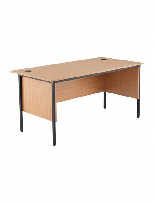 Oak Office Desk 1532x746mm TC Start18 STB1574RECMDOK