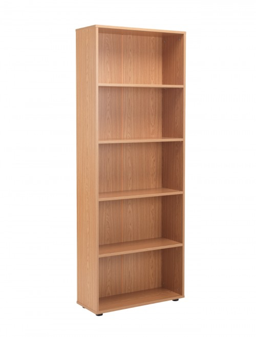 Oak Bookcase 2004mm High Bookcase TC Start18 STB2075OK