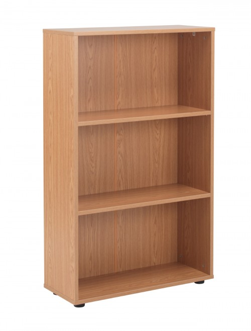 Oak Bookcase 1236mm High Bookcase TC Start18 STB1275OK