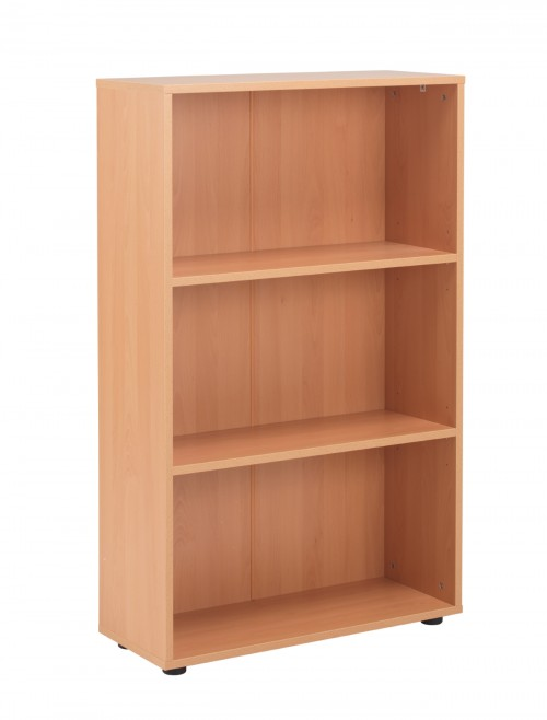 Beech Bookcase 1236mm High Bookcase TC Start18 STB1275BE