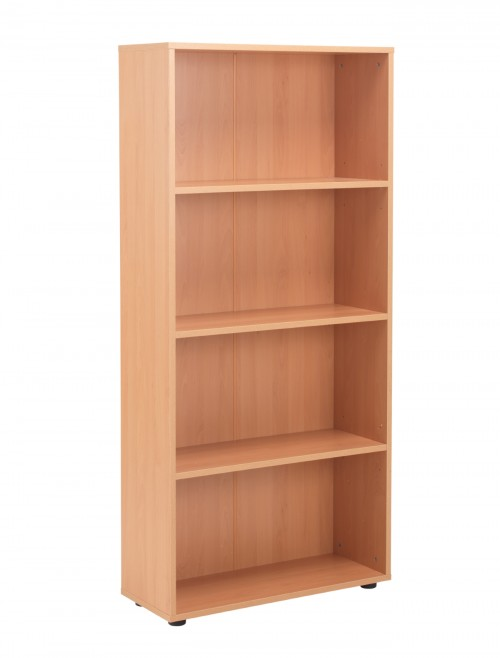 Beech Bookcase 1620mm High Bookcase TC Start18 STB1675BE