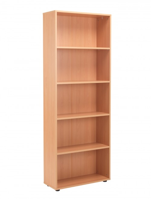 Beech Bookcase 2004mm High Bookcase TC Start18 STB2075BE