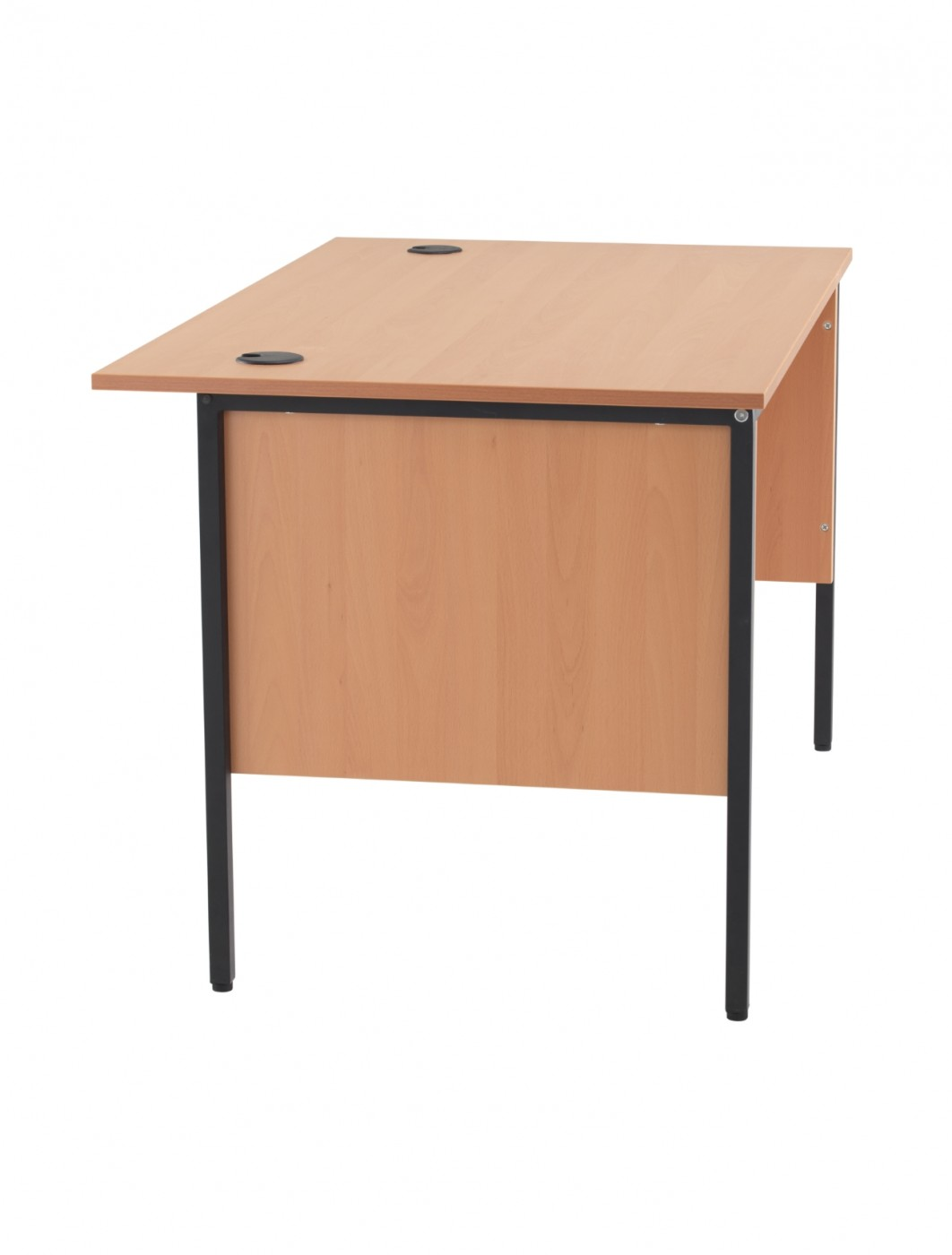 Home Office Furniture Uk Desk Set 18: Beech Office Desk 1228x746mm TC Start 18 Desk