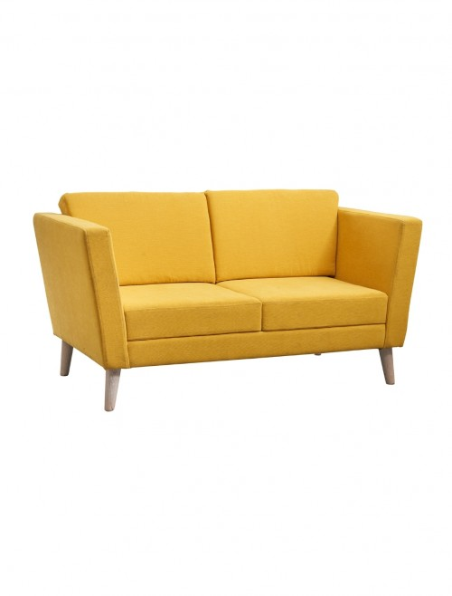 Dams Lyric Reception Seating 2 Seater Sofa LYR50002