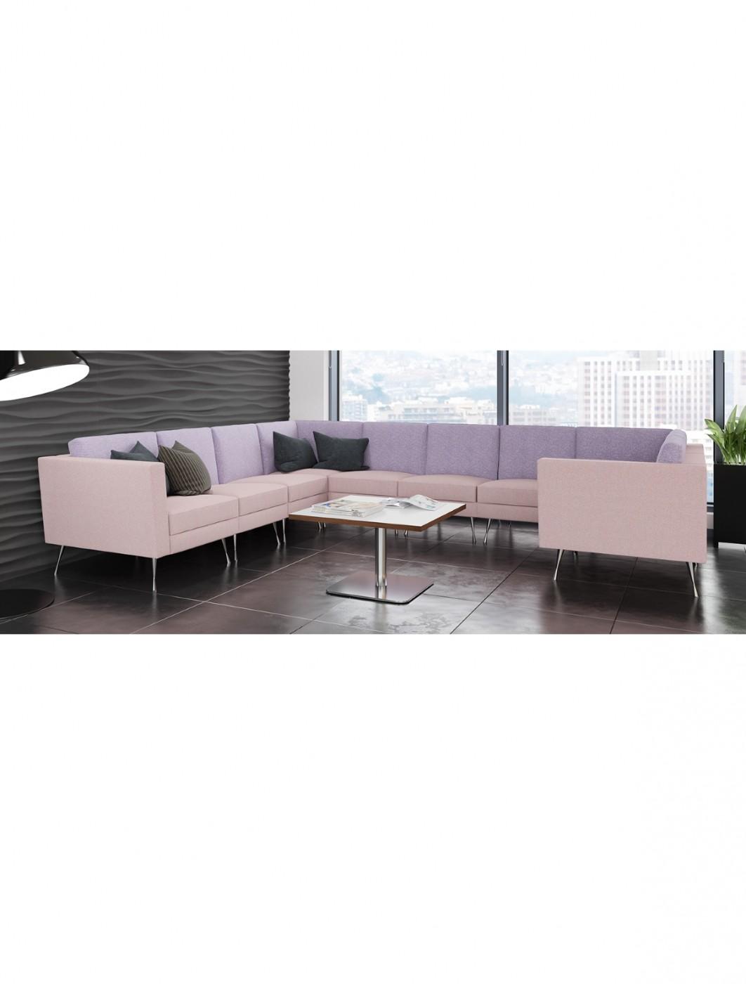 Dams Lyric Modular Reception Large Corner Sofa Set LYRSET   121 ...