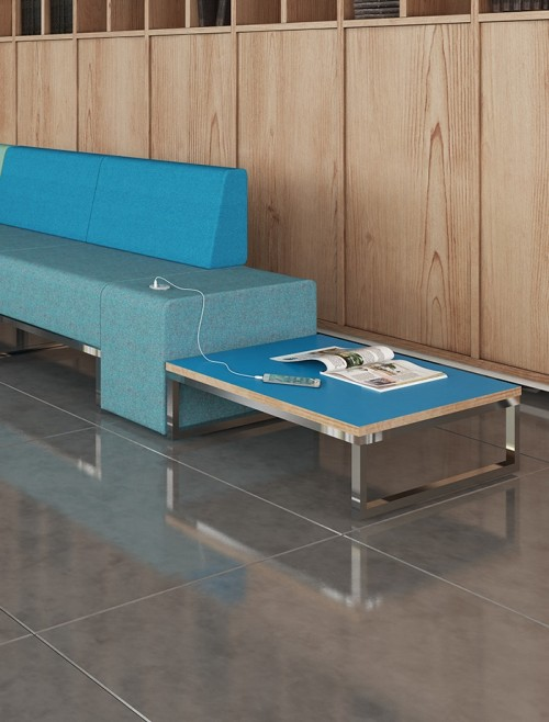 Modular Soft Seating - Dams Nera Square Coffee Table NERA-S-TABLE