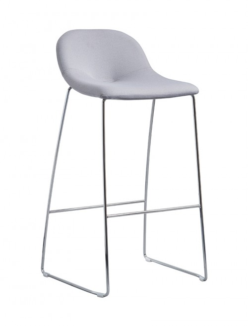 Soft Seating - Dams Medley High Stool MED03 Sled Leg Frame