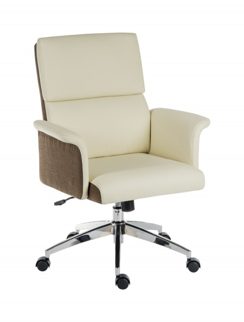 Office Chairs - Teknik Elegance Medium Office Chair 6951CRE