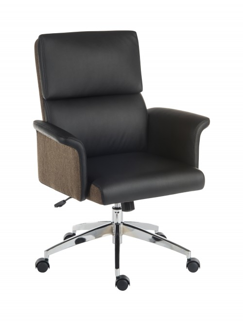 Office Chairs - Teknik Elegance Medium Office Chair 6951BLK