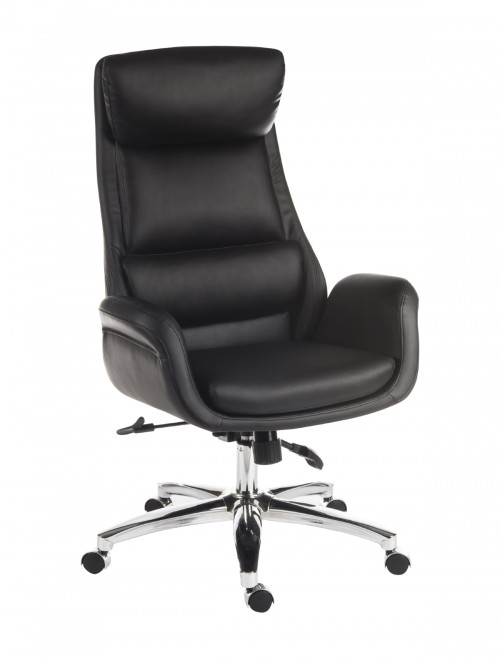 Office Chairs - Teknik Ambassador Executive Reclining Chair 6949BLK