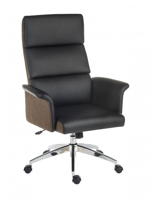 Office Chairs - Teknik Elegance High Office Chair 6950BLK