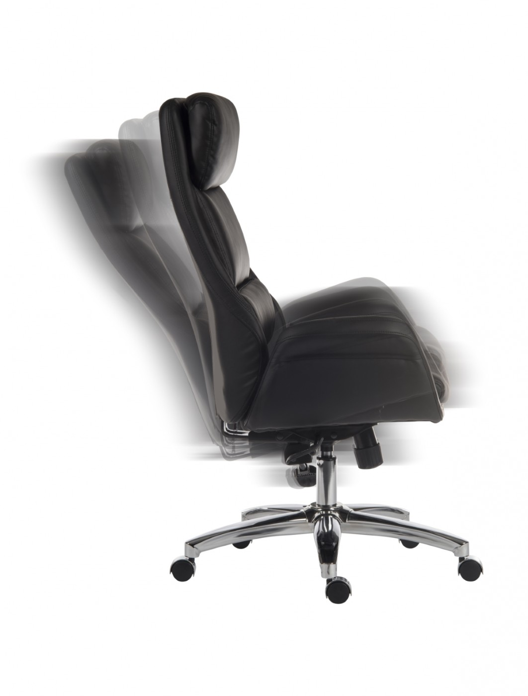 office reclining chair. Office Chairs - Teknik Ambassador Executive Reclining Chair 6949BLK Enlarged View W